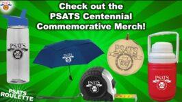 TVN's PSATS Roulette | Check out the PSATS Centennial Commemorative Merch! (1:37)