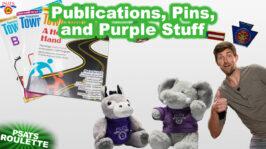 TVN's PSATS Roulette   Publications, Pins, and Purple Stuff (1:05)